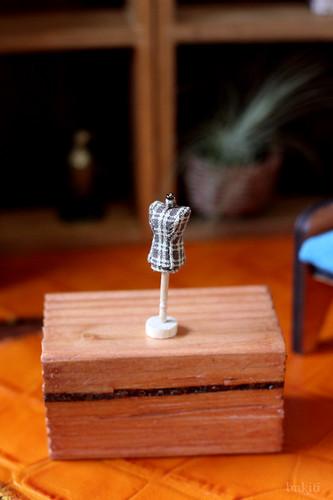 handsewn miniature torso