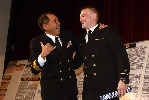 SURFLANT Commander Rear Adm. Pete Gumataotao