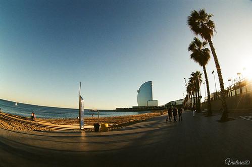 Barceloneta. Barcelona. Spain