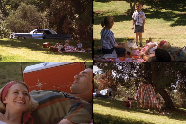 Mad men, cena do picnic