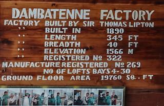 Sri Lanka. Haputale. Dambatenne tea factory.