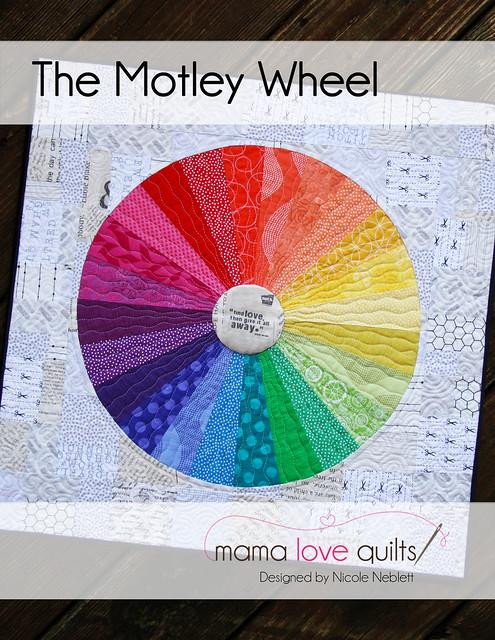 Motley Wheel Pattern Cover