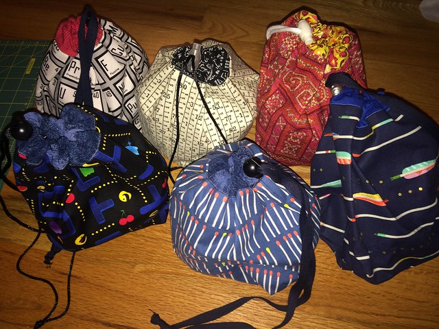 knitting bags, set 2