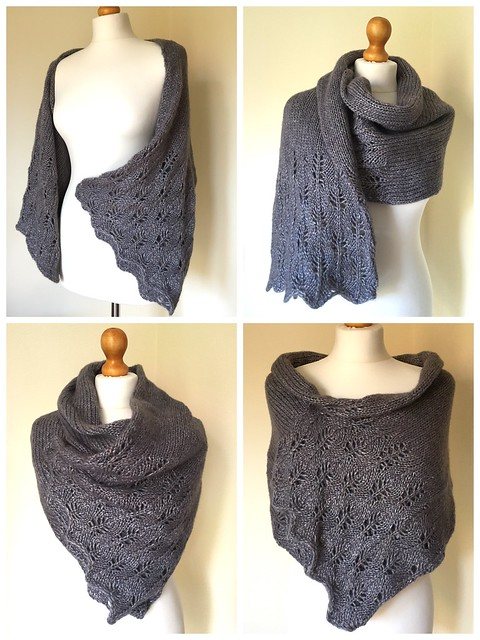 New pattern for a very versatile shrug/wrap/cowl