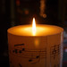Small photo of Music Candle