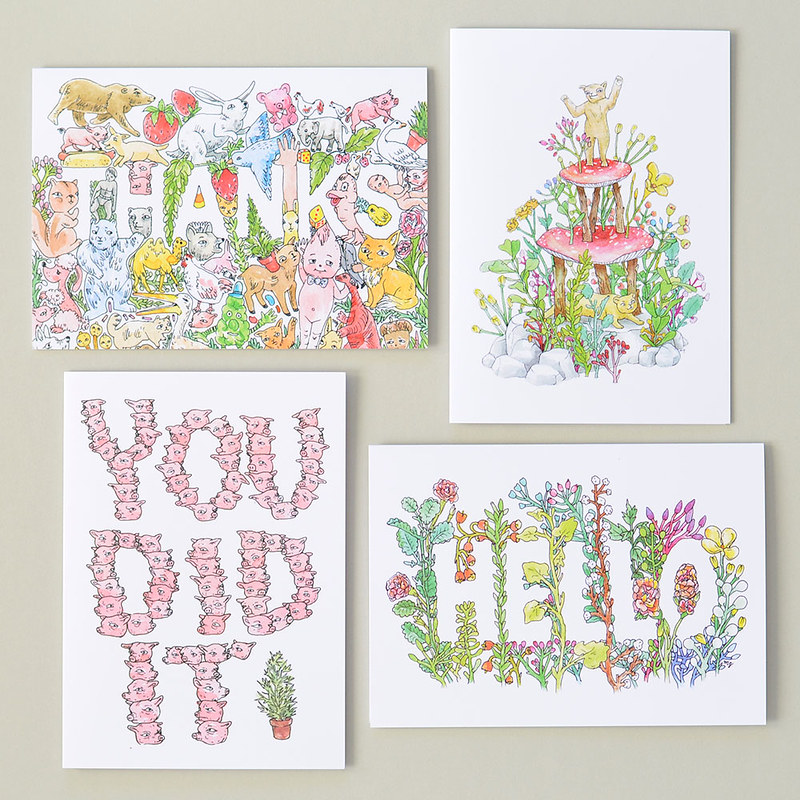 Illustrated Greeting Cards