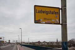 Ludwigshafen sign