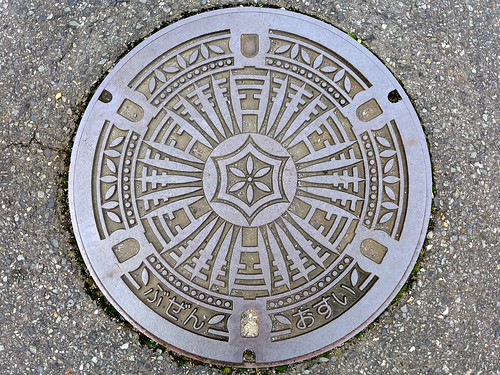 Buzen Fukuoka, manhole cover (福岡県豊前市のマンホール)