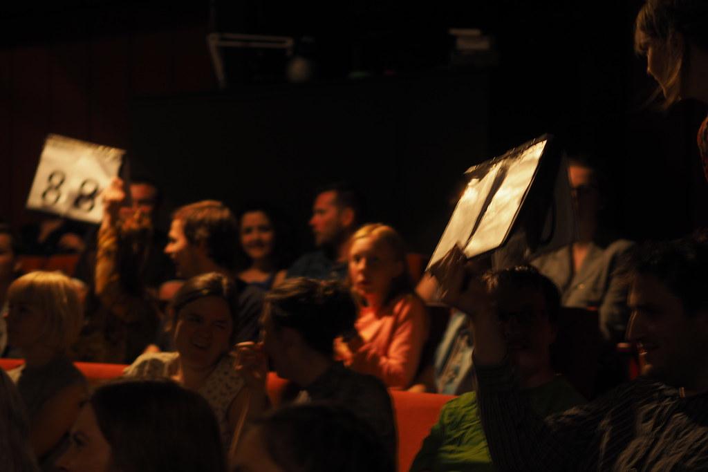 Poetry slam, teater Momentum, Maj 2016