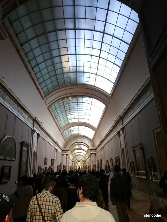 Hallway in Louvre