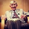 Freeman Dyson at Princeton Public Library