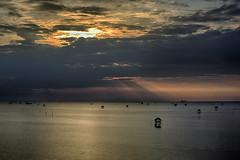 Rising Sun at Bangtaboon Bay