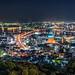 高塔山展望台 Wakamatsu-ku, Kitakyushu by mikemikecat
