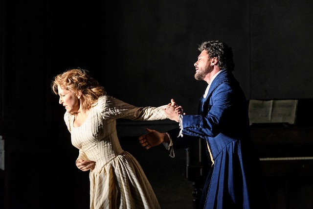 Joyce DiDonato as Charlotte and Vittorio Grigòlo as Werther in Werther, Royal Opera House © 2016 ROH. Photograph by Bill Cooper