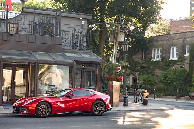 Rosso Maranello.