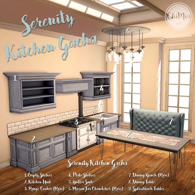 ChiMia - Serenity Kitchen Gacha for The Gacha Guardians