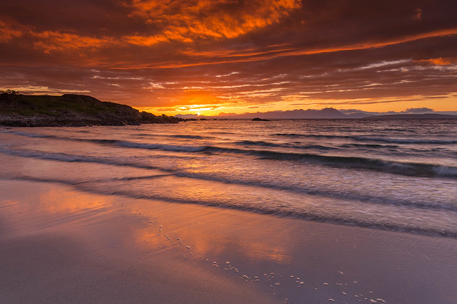 Mellon Udrigle Sunrise.