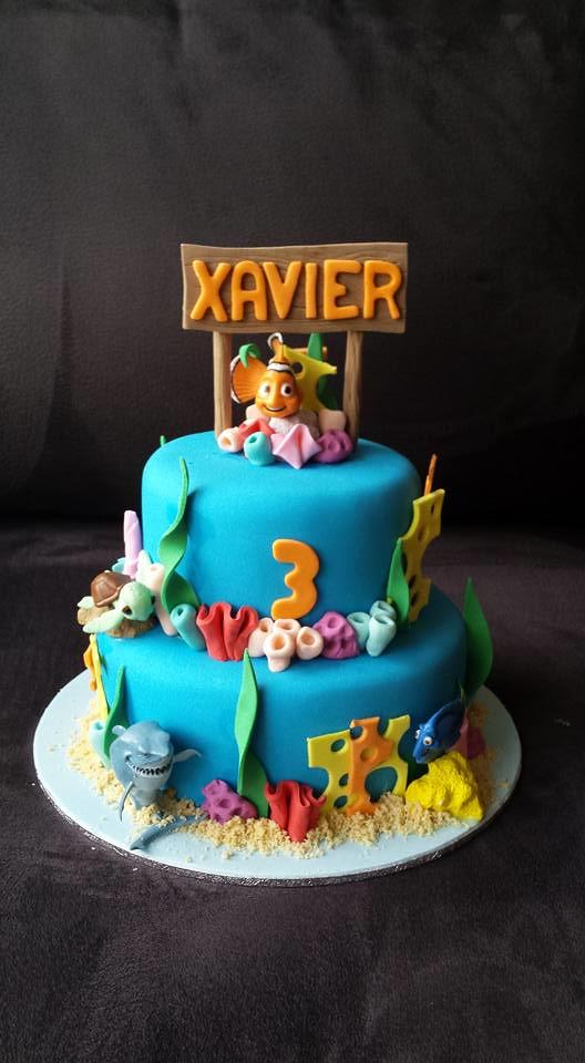 Nemo and Dory Cake by Cake & I