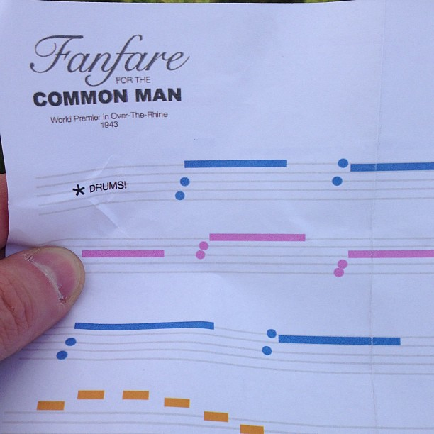 I just learned how to read sheet music for kazoos
