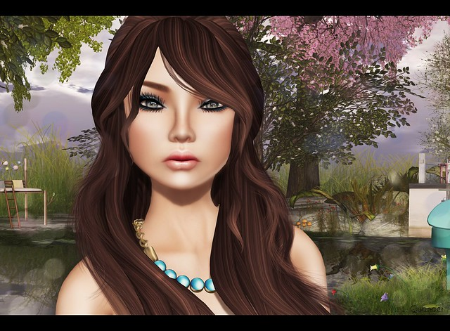 C88 for April Glam Affair - Margot - America 03 - Dark Brown & Clawtooth Gold Lion - Girl Next Door