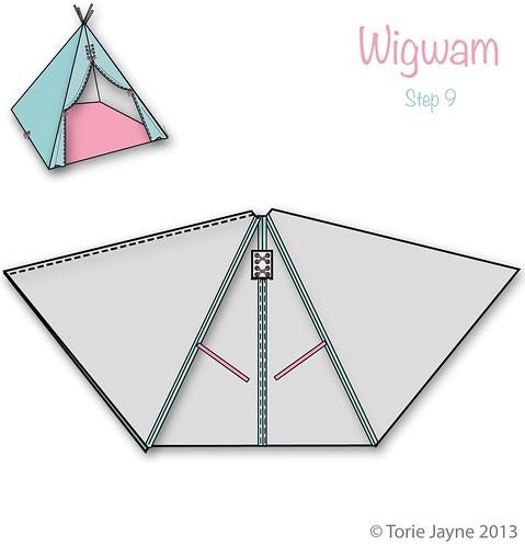 Wigwam Step 9