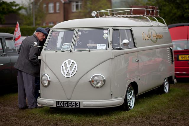 Barn Door VW Van
