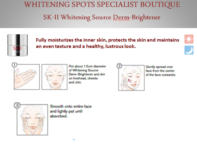 whtiening source derm brightener