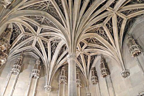 Le plafond de la Chapelle (Musée de Cluny)