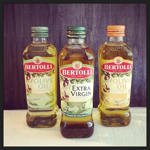 Thanks @bertolli, I jut ran out of olive oil this morn! #gifted
