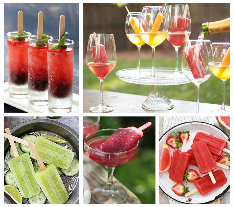 FineStationery.com: Summer Popsicle Cocktails Recipes