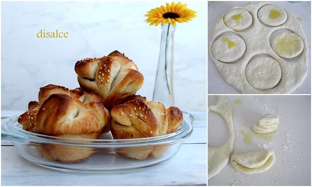 muffin kalıbında ekmek yapılışı