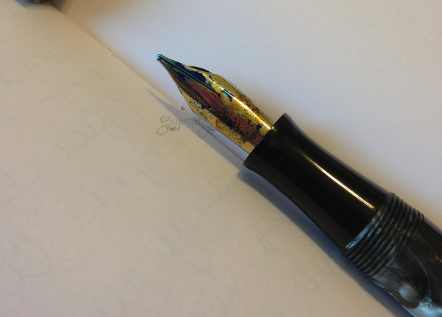 Waterman 94 Music Nib Writing