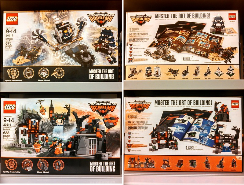 Master Builder 20214-20215 Out early - Special LEGO Themes ...