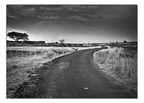 road bw monochrome landscape roadtrip beginning end mundane gulbarga meandering canon600d