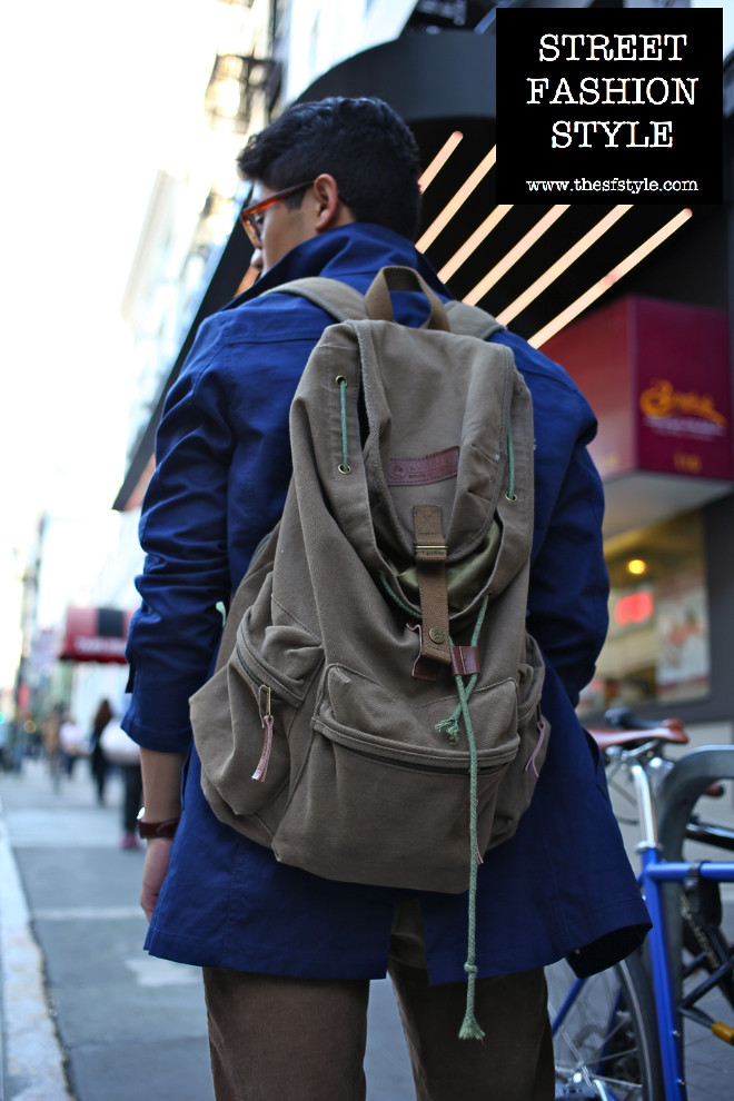 man morsel monday, men's trench, military backpack, men's watch, thesfstyle, sfstyle, street fashion style, san francisco fashion blog,
