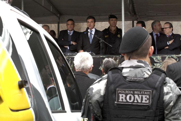 Governador reforça segurança pública com mais 268 viaturas