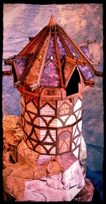 A wizards tower...