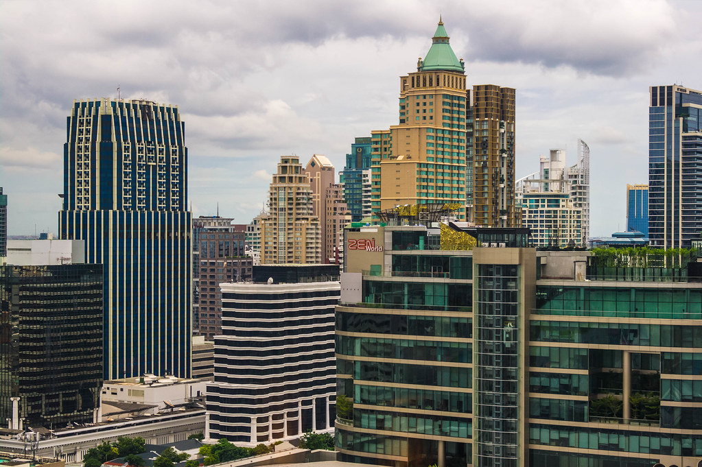 Skyscappers of Bangkok