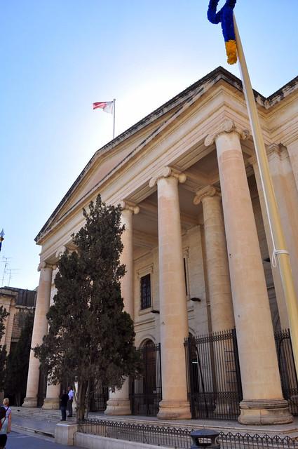 Qué ver en La Valeta: Edificio del Water Rest de Malta