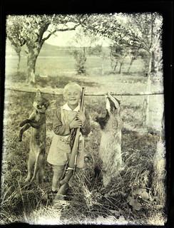 El niño cazador