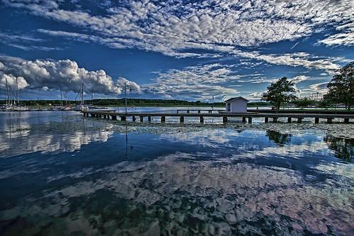 water clouds sweden vatten nyköping moln