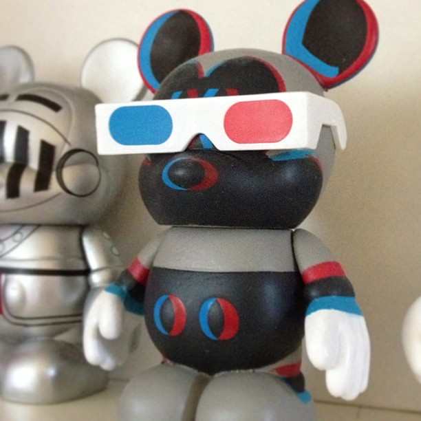 Day212 One of my favorite Disney Vinylmations.  Now that we are back from our vacation, it's time to start planning the next one! ;) It will be to Disney World. #jessie365 #vinylmation #disney 7.31.13