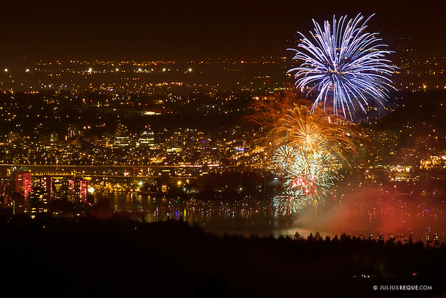 Tonight in Vancouver: Celebration of Light from Cypress Mountain
