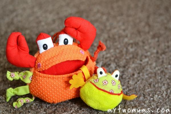 Mr Greedy Crab - Toadstool UK