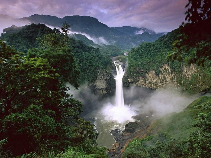 Waterfall Yasuni