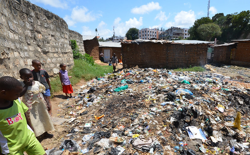 Mombasa slum