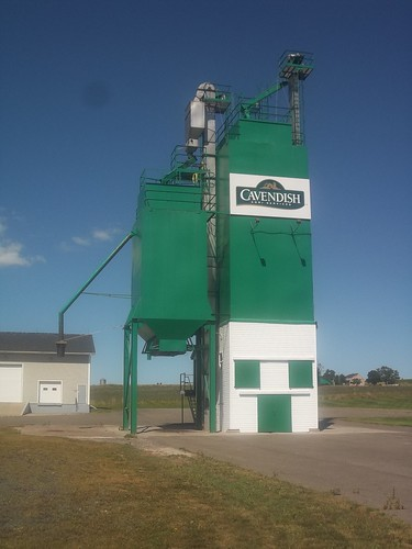 Cavendish Farms potato warehouse, 24 St. Charles Road, Rollo Bay