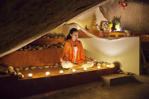 Kamalaya Koh Samui meditation cave