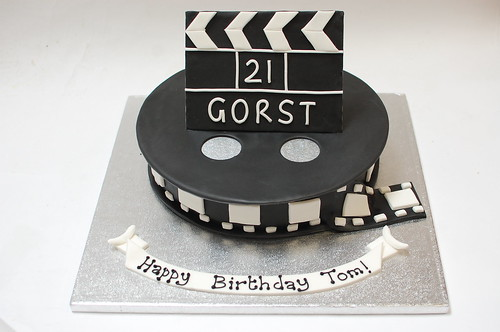 Cool Film Cake Beautiful Birthday Cakes Funny Birthday Cards Online Bapapcheapnameinfo
