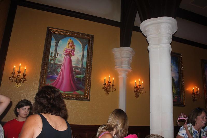 Princess Aurora Portrait at Fairytale Hall